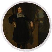 Johan Hulshout 16231687 Round Beach Towel