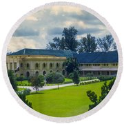 Johor Bahru Grand Palace Round Beach Towel