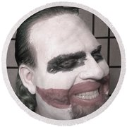Joker Round Beach Towel