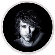 Jon Bon Jovi - It's My Life Round Beach Towel