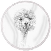 Jordan Round Beach Towel