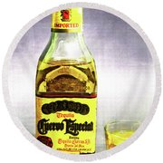 Jose Cuervo Shot 2 Round Beach Towel