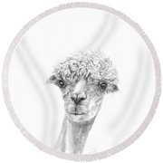 Jose Round Beach Towel