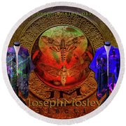 Joseph Mosley Collection Fine Art America Round Beach Towel by Joseph Mosley