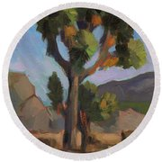 Joshua Tree 2 Round Beach Towel