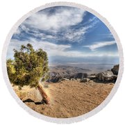 Joshua Tree 39 Round Beach Towel