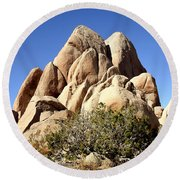Joshua Tree Center Round Beach Towel