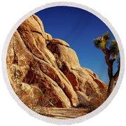 Joshua Tree Np 3 Round Beach Towel