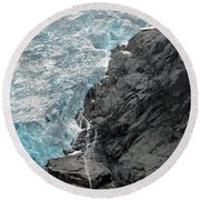 Jostedalsbreen National Park Round Beach Towel