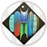 Journy- 15 Round Beach Towel