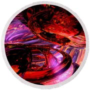 Jubilee Abstract Round Beach Towel