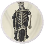 Judge Oscar O. Death Round Beach Towel
