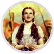 Judy Garland, Dorothy Round Beach Towel