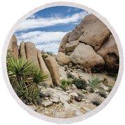 Jumbo Rocks Round Beach Towel