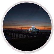 Juno Pier Daybreak Round Beach Towel