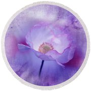Just A Lilac Dream -3- Round Beach Towel by Issabild -