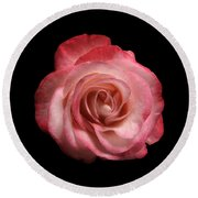 Just A Rose Round Beach Towel
