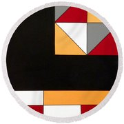 Just For Fun Round Beach Towel