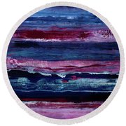 Just Like That Round Beach Towel