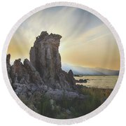 Just Reach For Me Round Beach Towel