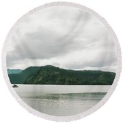 Kachemak Bay Round Beach Towel