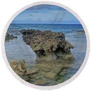 Kaena Point  7868 Round Beach Towel
