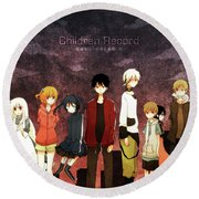 Kagerou Project Round Beach Towel
