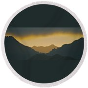 Kailua Sunset Round Beach Towel