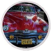Kaiser Virginian Deluxe - 1949 Convertible Round Beach Towel