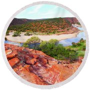 Kalbarri National Park 2am-29388 Round Beach Towel