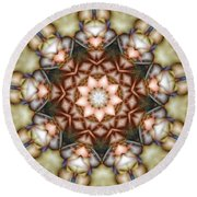 Kaleidoscope 108 Round Beach Towel