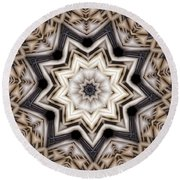 Kaleidoscope 110 Round Beach Towel