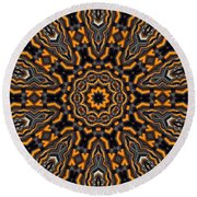 Kaleidoscope 25 Round Beach Towel