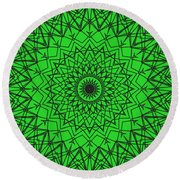 Kaleidoscope 790 Round Beach Towel