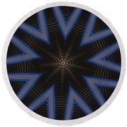 Kaleidoscope 90 Round Beach Towel