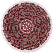 Kaleidoscope 95 Round Beach Towel