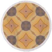 Kaleidoscopes- 01 Round Beach Towel