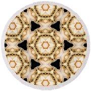 Kaleidoscopes- 11 Round Beach Towel