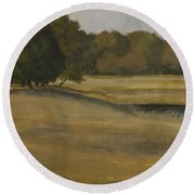 Kanha Meadows Round Beach Towel