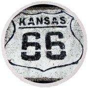 Kansas 66 Round Beach Towel