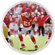 Kansas City Chiefs Round Beach Towel