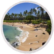 Kapalua Beach Resort Round Beach Towel