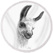 Karin Round Beach Towel