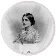 Kate Fox (1837-1892) Round Beach Towel