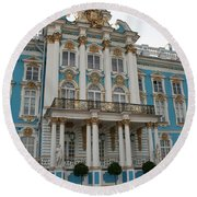 Katharinen Palace I - Russia  Round Beach Towel