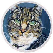 Katja Round Beach Towel