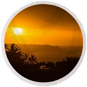 Kauai North Shore Round Beach Towel