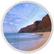 Kauai, Polihale Beach Round Beach Towel