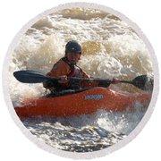 Kayak 9 Just Relax Round Beach Towel