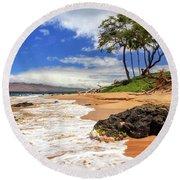 Keawakapu Beach - Mokapu Beach Round Beach Towel
